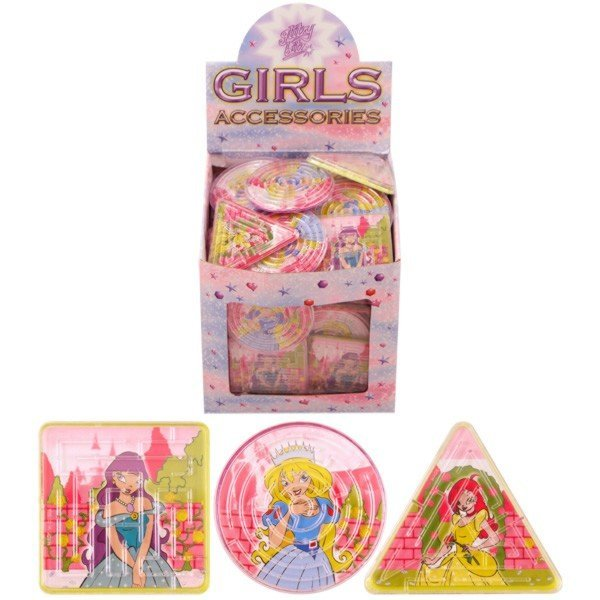 Henbrandt Princess Puzzle Maze - Assorted Shapes
