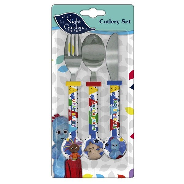 In The Night Garden 3PC Cutlery Set