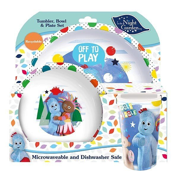 In The Night Garden 3PC Dinner Set