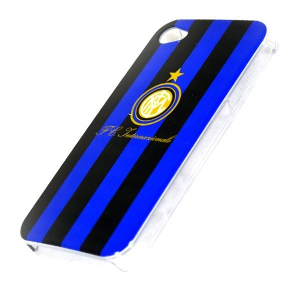 Inter Milan iPhone 4/4S Hard Phone Case - Stripe