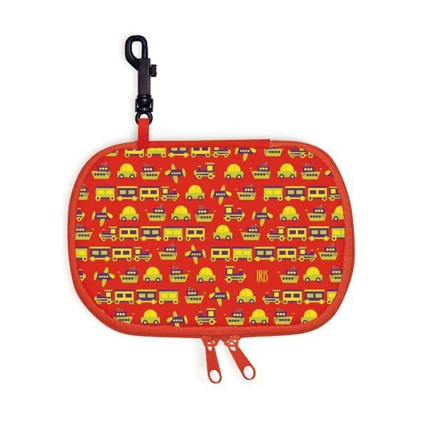 Iris Rico Rectangle Snack Bag - Red II