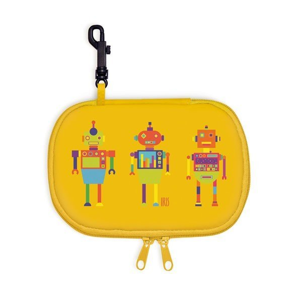 Iris Rico Rectangle Snack Bag - Yellow