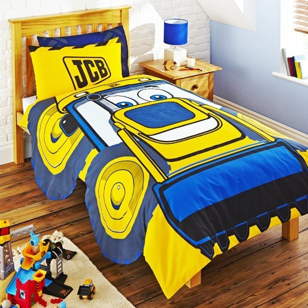 JCB Halo Shaped Single Duvet