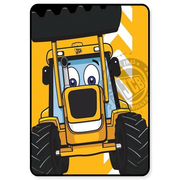 JCB Joey Fleece Blanket