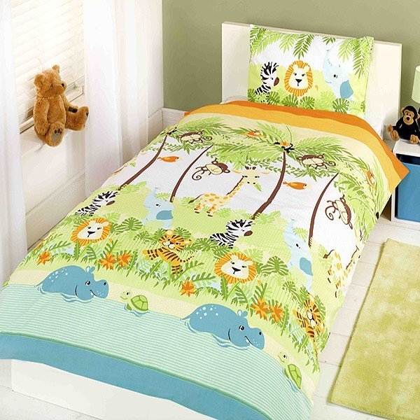 Jungle Boogie Single Duvet Set