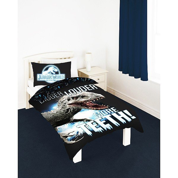Jurassic World Glow In The Dark Single Duvet