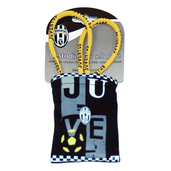 Juventus Checked Mobile Phone Pouch