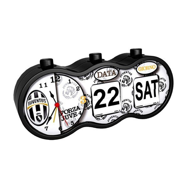 Juventus Desk Clock - White