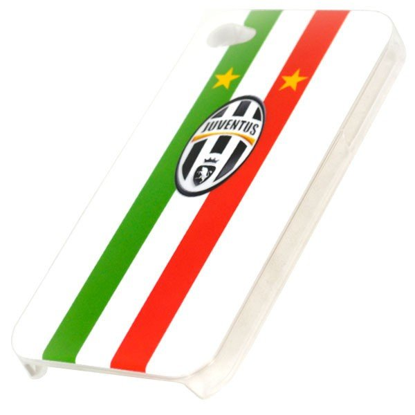 Juventus iPhone 4/4S Hard Phone Case - Stars