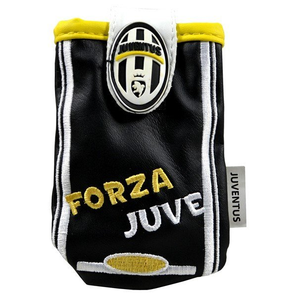 Juventus Mobile Phone Pouch With Flip - Black