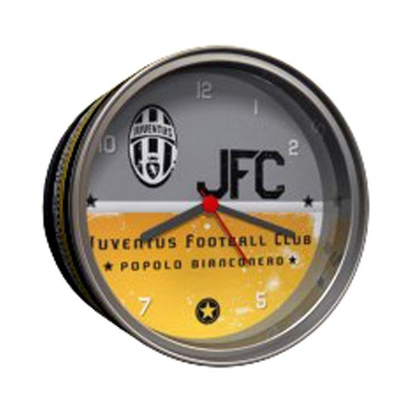 Juventus Table Clock In Tin