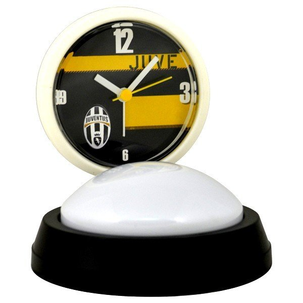 Juventus White Face Lamp Alarm Clock