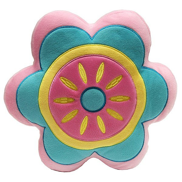 Kids Filled Cushion - Flower