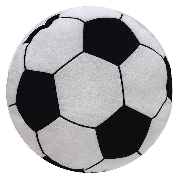 Kids Filled Cushion - Football
