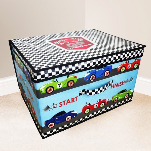 Kids Folding Storage Chest - Grand Prix