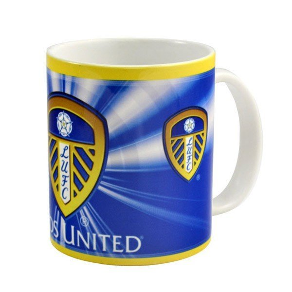 Leeds United 11oz Crest Mug