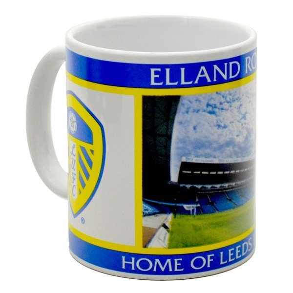 Leeds United 11oz Stadium Mug
