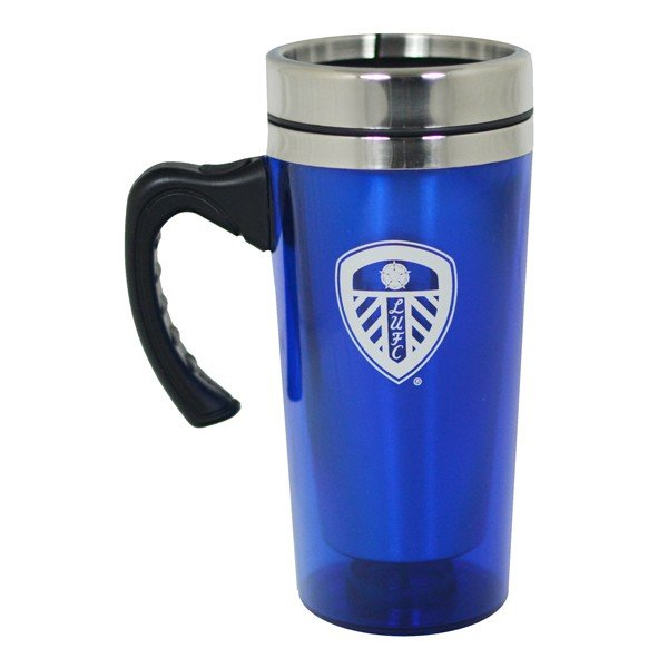 Leeds United Aluminium Travel Mug