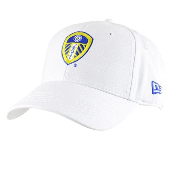 Leeds United Baseball Cap - White