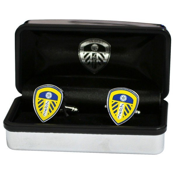 Leeds United Crest Cufflinks
