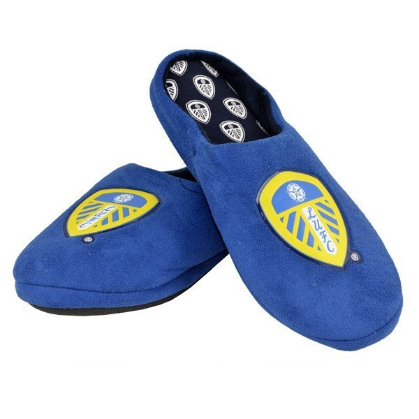 Leeds United Defender Slippers (5-6)