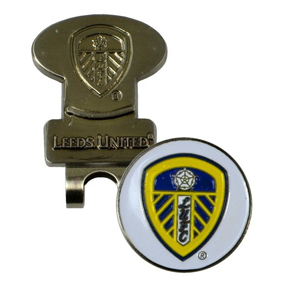 Leeds United Golf Hat Clip & Ball Marker