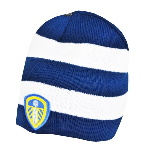 Leeds United Reversible Beanie Hat