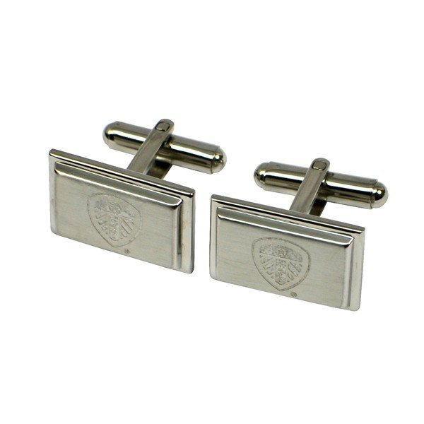 Leeds United Stainless Steel Cufflinks