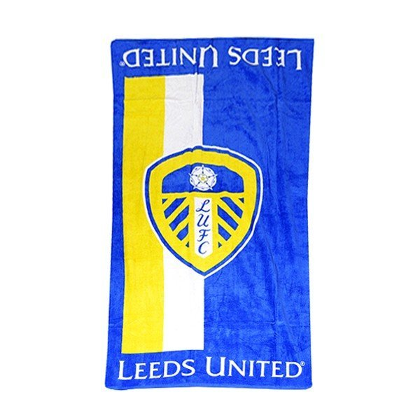 Leeds United Velour Beach Towel