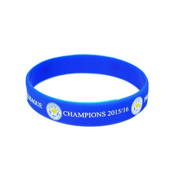 Leicester City Champions Single Wristband