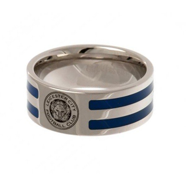 Leicester City Colour Stripe Ring - Medium