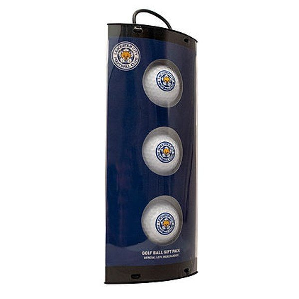 Leicester City Golf Ball Gift Pack