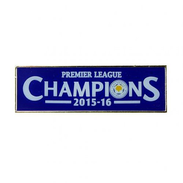 Leicester City Oblong Pin Badge