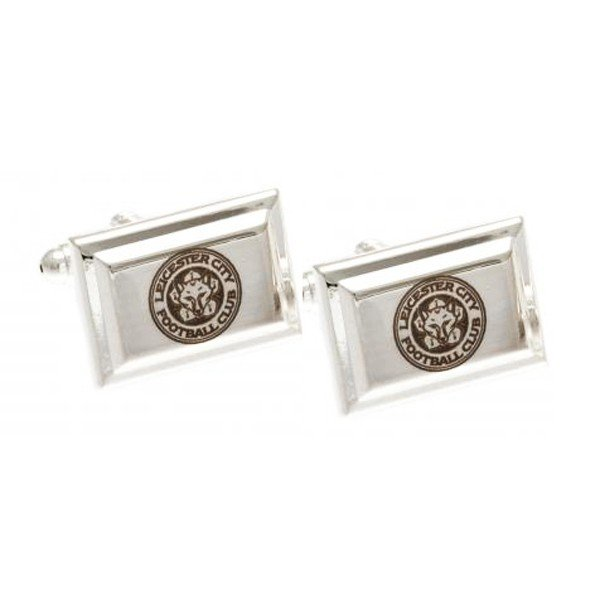 Leicester City Silver Plated Cufflinks