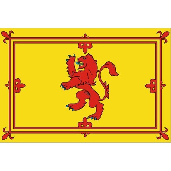 Lion Rampant National Flag