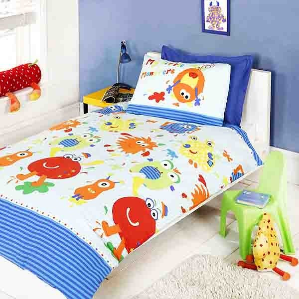 Little Monster Single Duvet Set