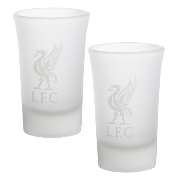 Liverpool 2Pk Frosted Shot Glass
