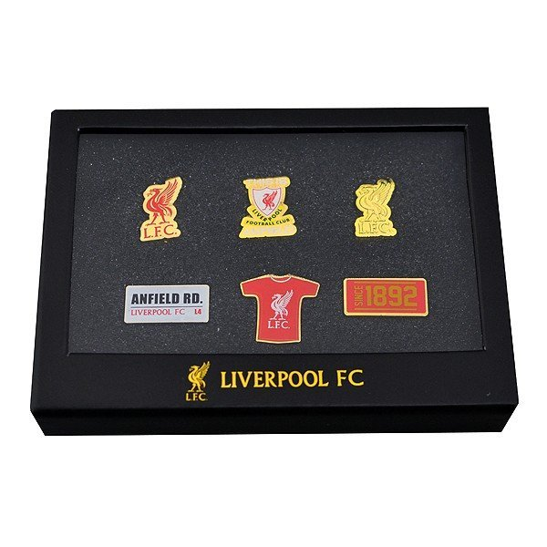Liverpool 6 Piece Badge Set