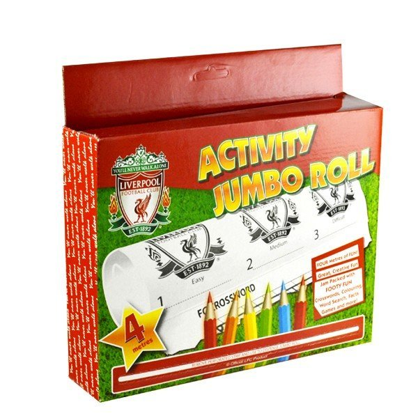 Liverpool Activity Jumbo Roll