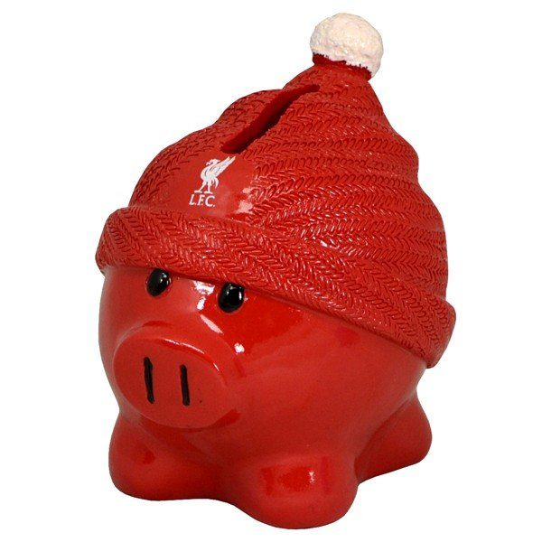 Liverpool Beanie Piggy Bank
