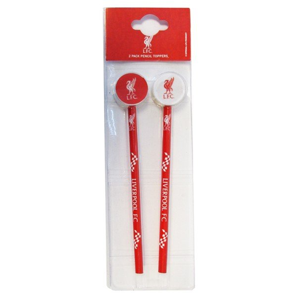 Liverpool Big Logo 2PK Pencil & Topper Set