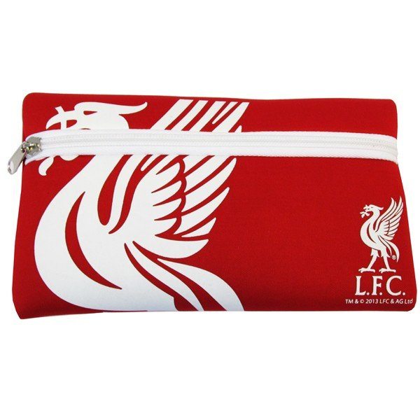 Liverpool Big Logo Flat Pencil Case