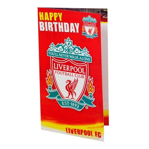 Liverpool Club Crest Birthday Card - 6PK