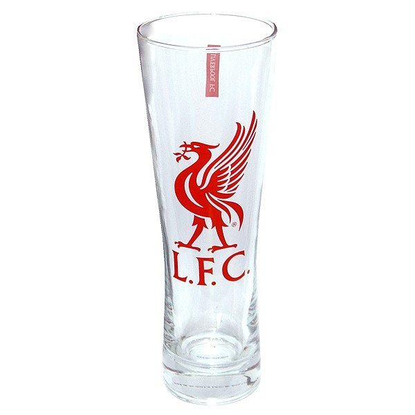 Liverpool Colour Crest Peroni Pint Glass