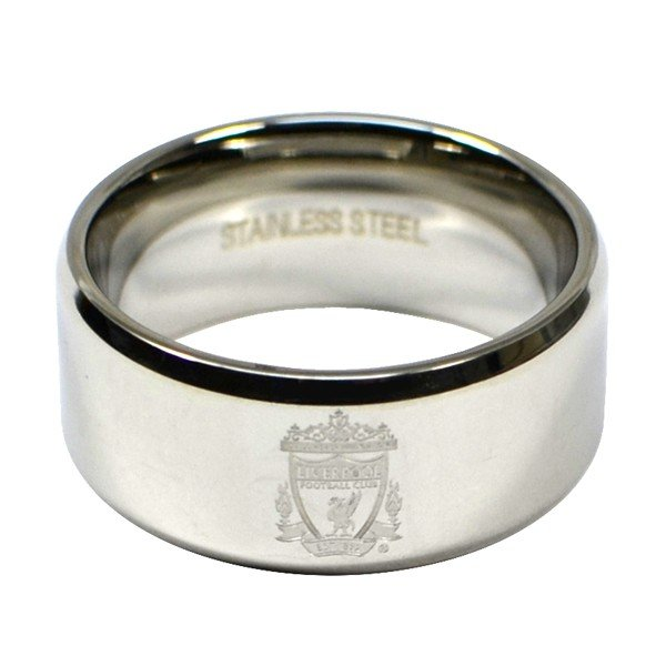 Liverpool Crest Band Ring - Large