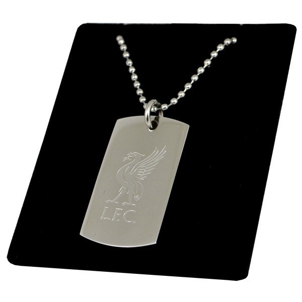 Liverpool Crest Dog Tag & Chain