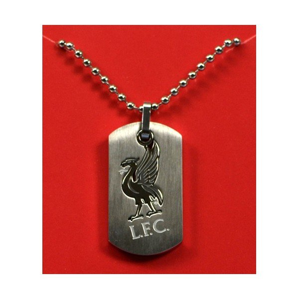 Liverpool Cut Out Dog Tag & Chain