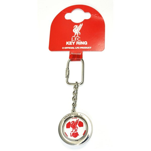 Liverpool Football Spinner Keyring