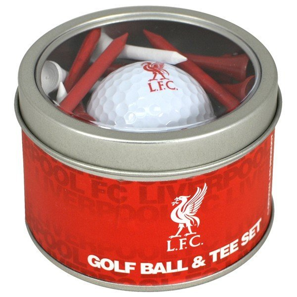 Liverpool Golf Ball & Tee Set