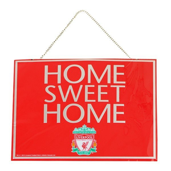Liverpool Home Sweet Home Sign